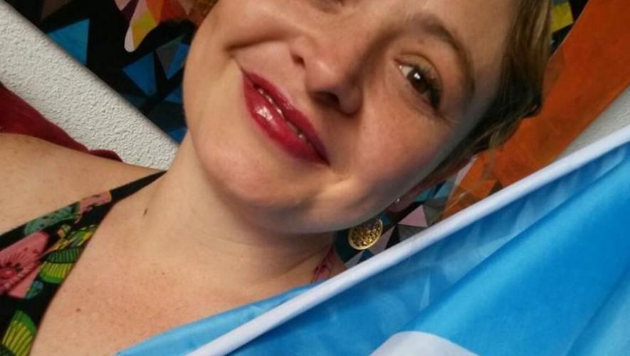 Magda Angélica representa a Guatemala en Uruguay