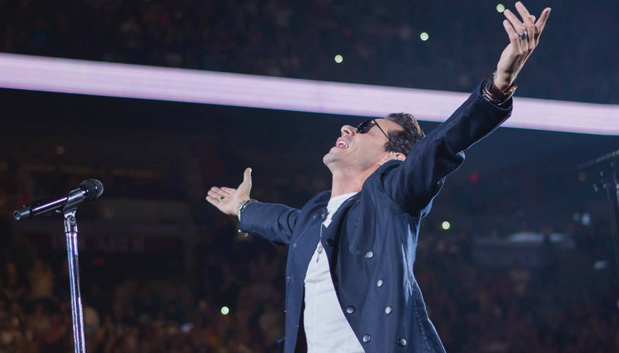Marc Anthony en el American Airlines Arena