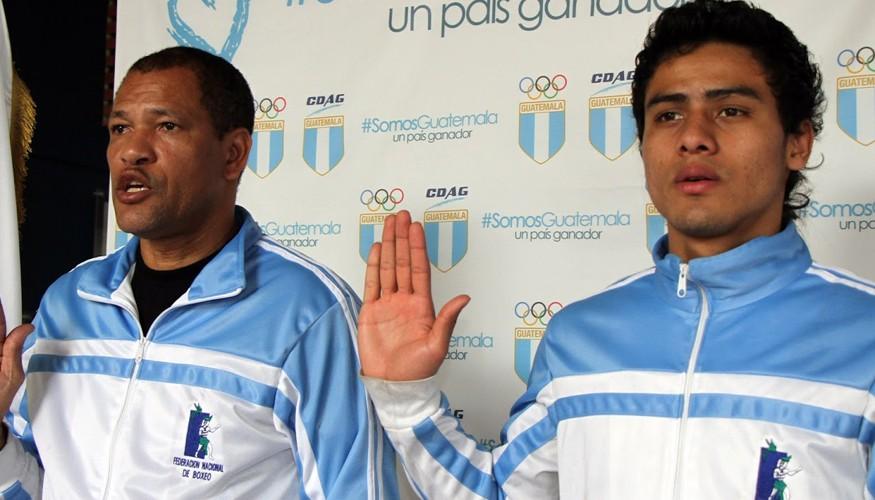 Léster Martínez y Julio Gonzáles son juramentados.