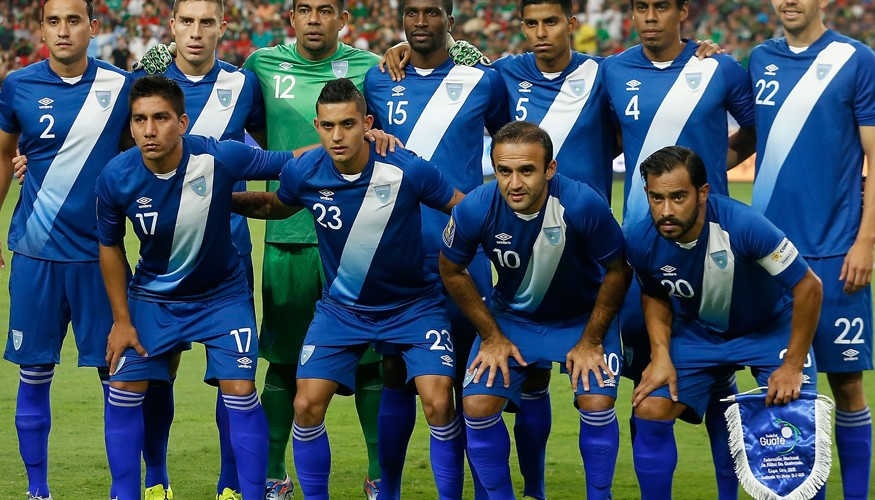 Selección Nacional Mayor de Fútbol de Guatemala