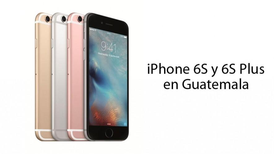 a78b63c85d4 Precios del iPhone 6S y 6S Plus en Guatemala