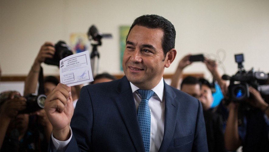 Presidente de Guatemala 2015