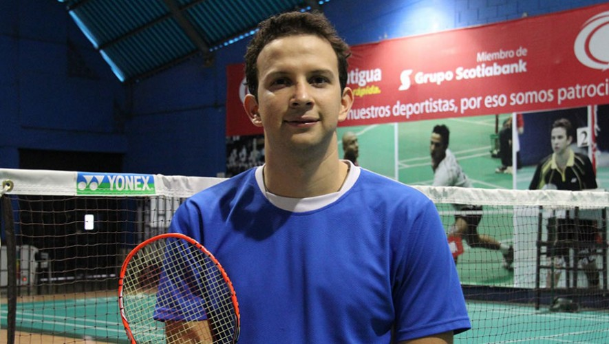 Atleta guatemalteco Kevin Cordón