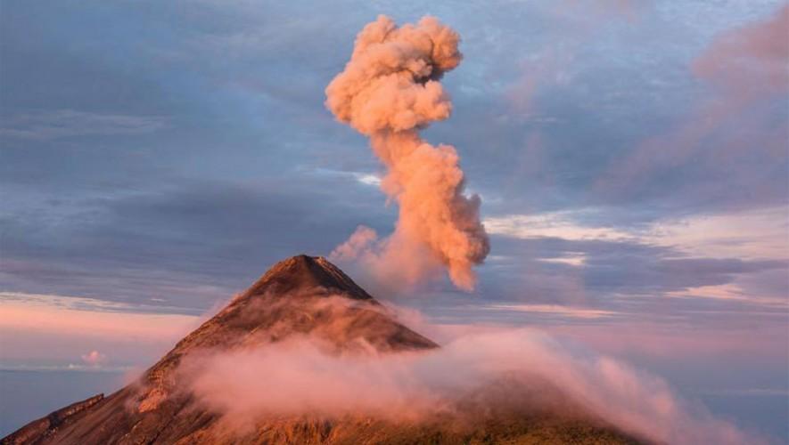 Erupción del Volcán de Fuego | Octubre 2015