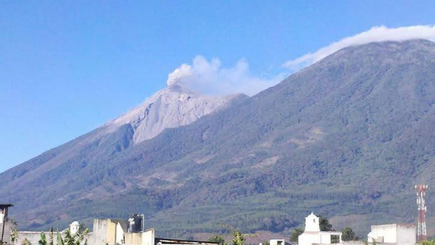Erupción Volcán de Fuego | Febrero 2015