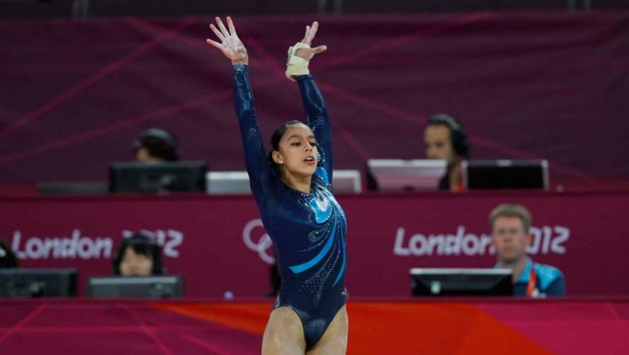 Ana Sofía Gómez compite