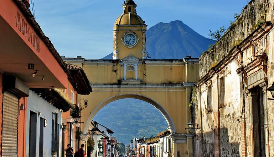 Calle del Arco en Antigua Guatemala
