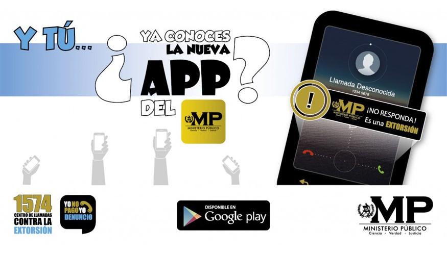 Aplicación Denuncias MP Extorsiones