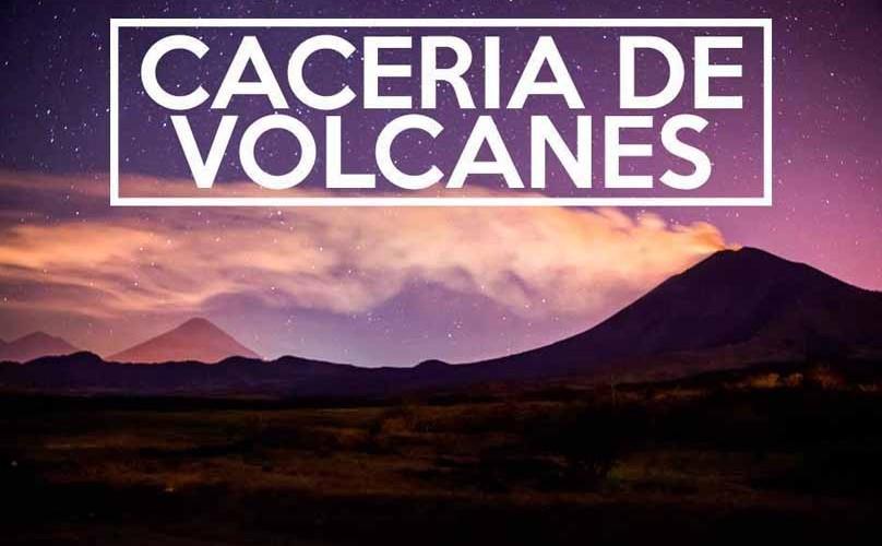 Cacería de volcanes | Noviembre 2015