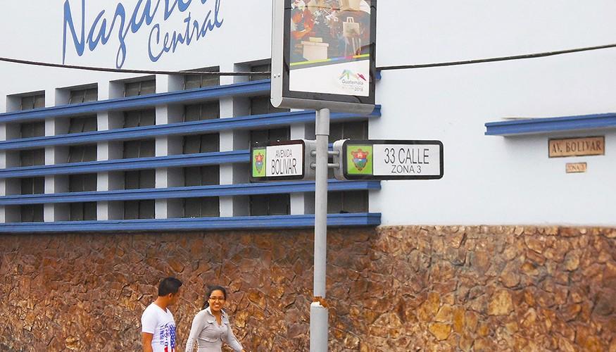 Calle de Ciudad de Guatemala