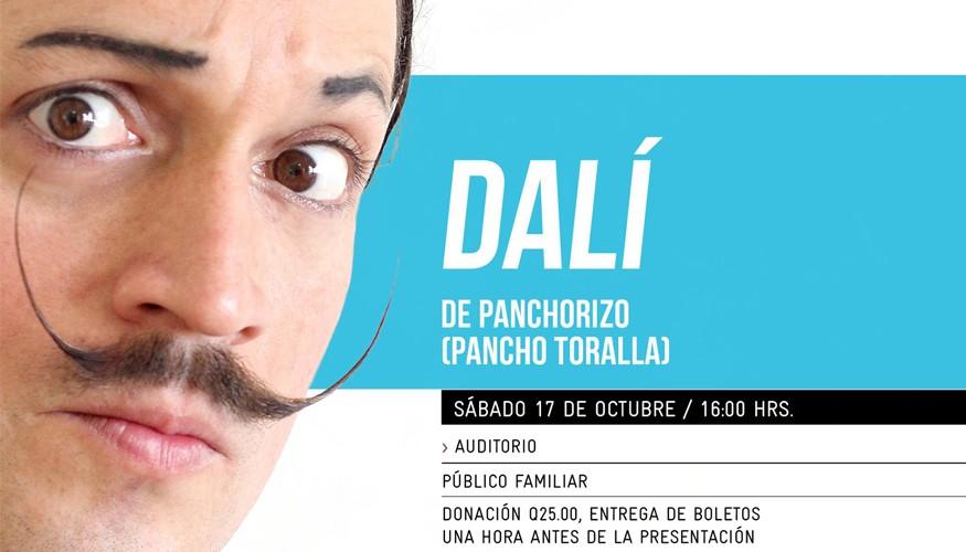 Teatro Clown: Dalí de Pancho Toralla (Panchorizo)   Octubre de 2015