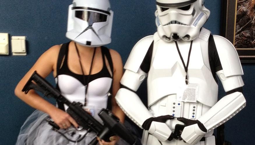 Disfraz de Storm Troopers