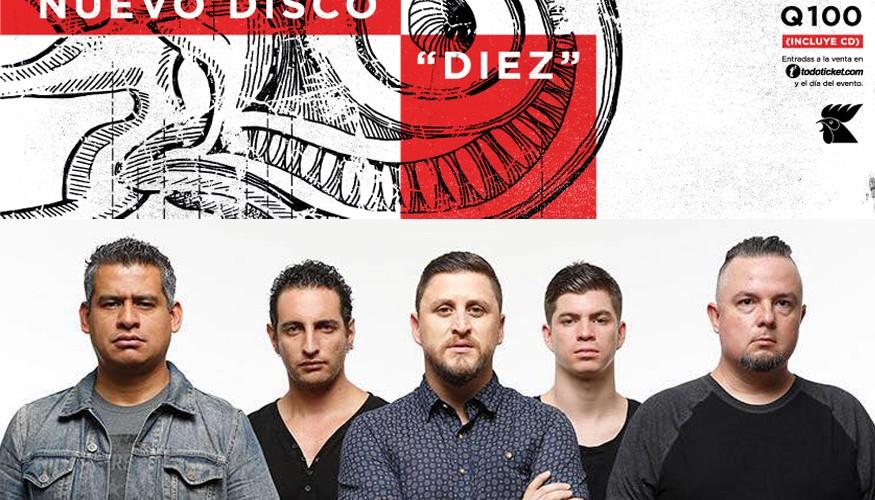 Lanzamiento de Diez, el nuevo disco de El Clubo, octubre de 2015