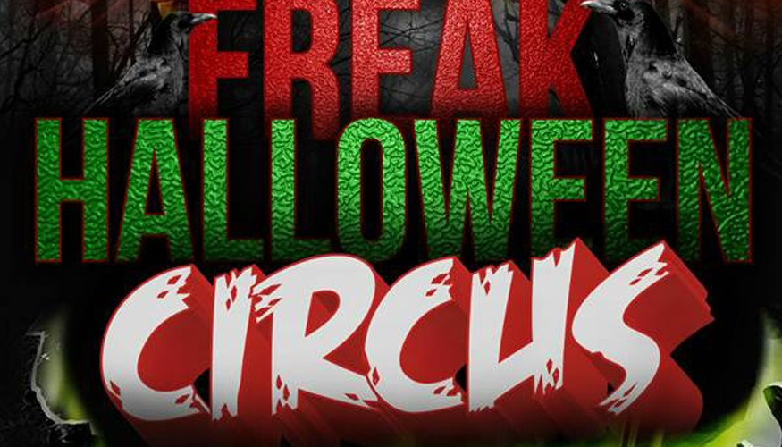 Freak Halloween Circus Party en Casa Nicolasa, octubre de 2015