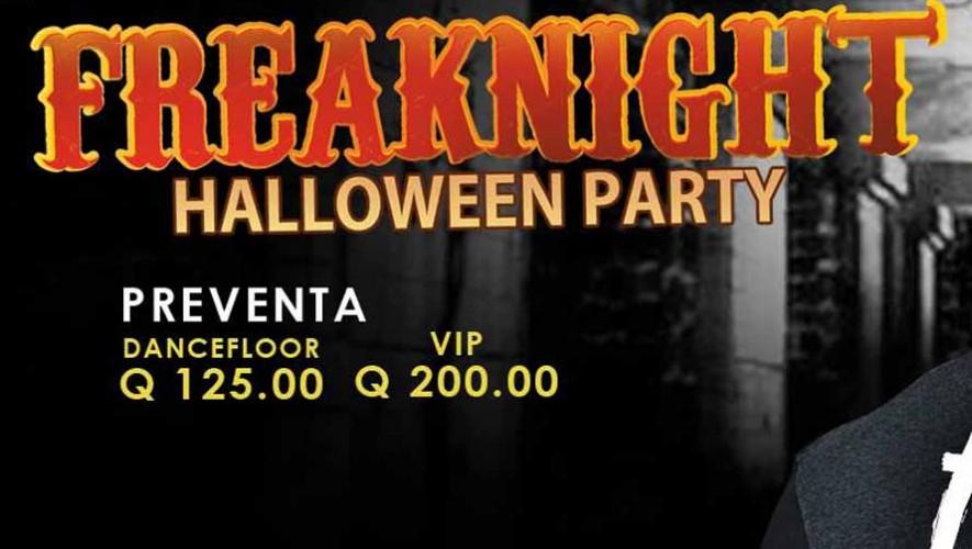 Freak Night Halloween Party | Octubre 2015
