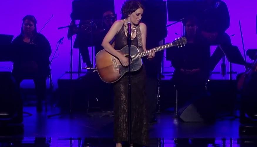 Gaby Moreno en los Hispanic Heritage Awards 2015