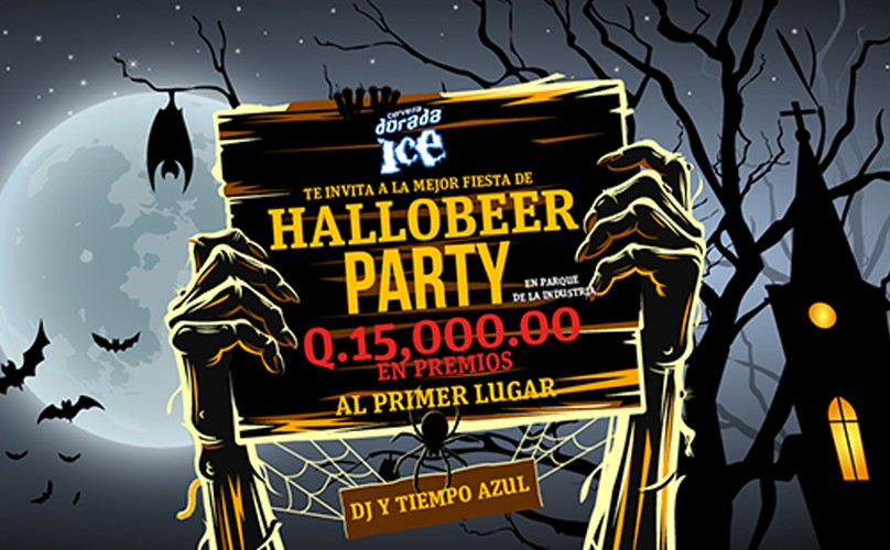 Hallobeer Party by Dorada Ice | Octubre 2015