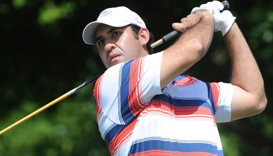 Golfista Jose Pablo Rolz