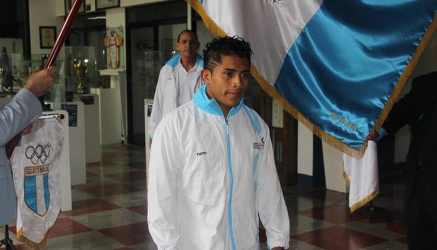 Atleta guatemalteco Julio Molina