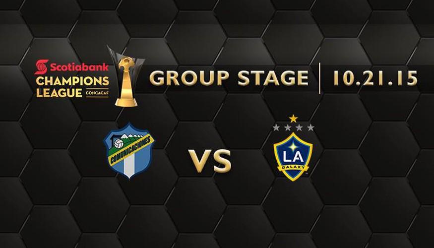 Partido Comunicaciones vs LA Galaxy, 21 de octubre de 2015