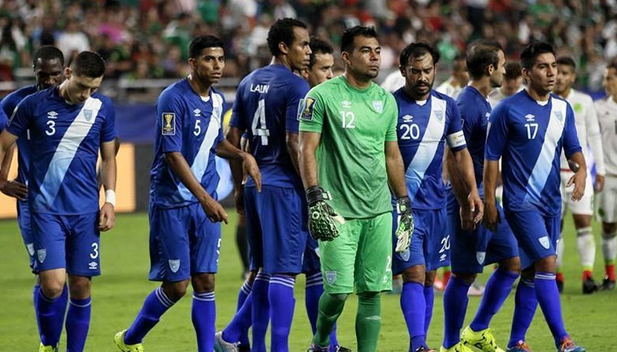 Partido amistoso entre selecciones de Guatemala y El Salvador, octubre de 2015