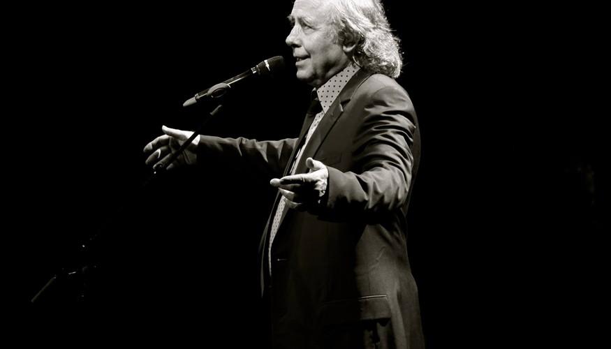 Concierto de Joan Manuel Serrat en Guatemala, octubre de 2015