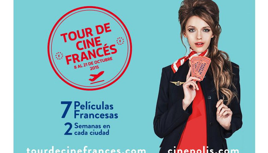 Tour de cine francés en Cinépolis, octubre de 2015