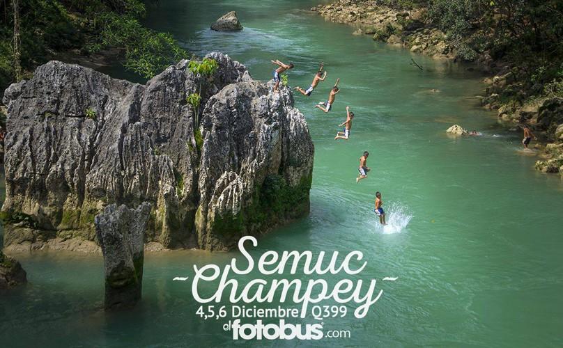 Tour a Semuc Champey, organizado por El Fotobus   Diciembre 2015
