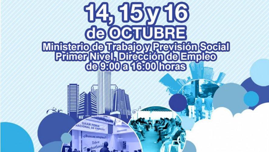 Feria de Empleo Guatemala 2015