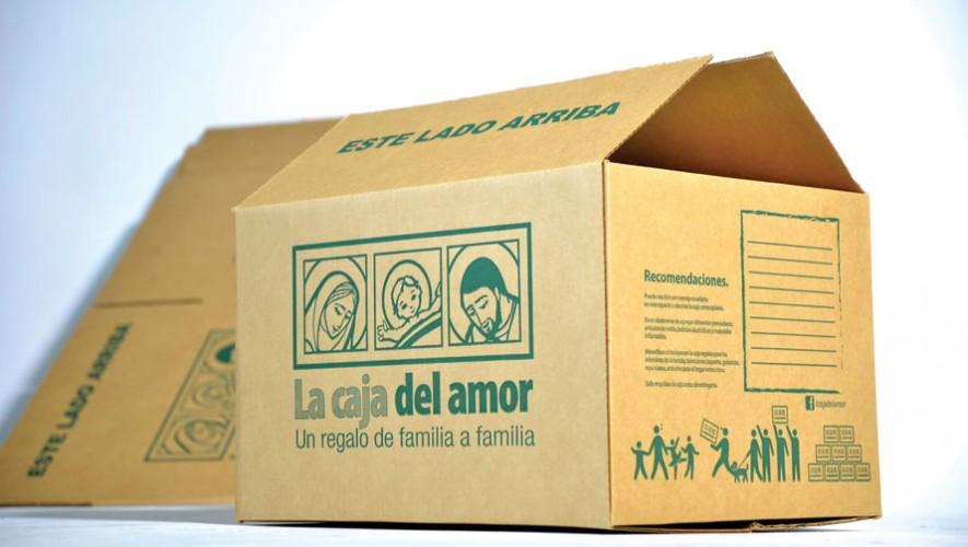 Las cajas del proyecto Caja del Amor son donadas por Cartones de Guatemala. (Foto: Facebook La Caja del Amor Guate)