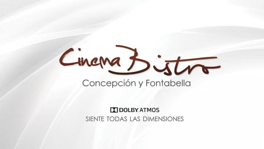 Vive la nueva experiencia de Cinema Bistro en Pradera Concepción. (Foto: Facebook Alba Cinema)
