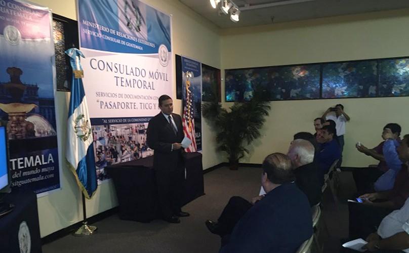 Instalan Consulado Móvil en Florida