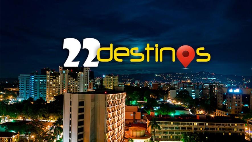 """Yovani Vásquez, originario de Quetzaltenango, creó la aplicación """"22 destinos"""". (Foto: Facebook 22 destinos)"""