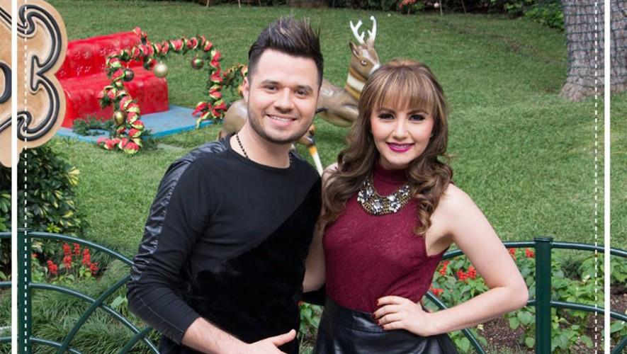 Juan Pablo y Fiorella serán los encargados de encender la Navidad en IRTRA Petapa. (Foto: Facebook Irtra)