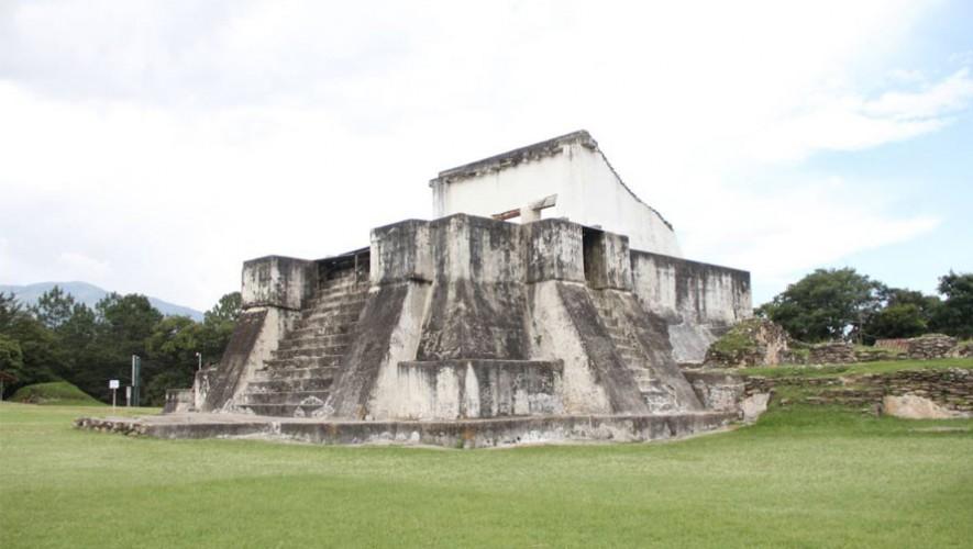 El Museo de Zaculeu en Huehuetenango abrió sus puertas al público nuevamente. (Foto: Ministerio de Cultura y Deportes)