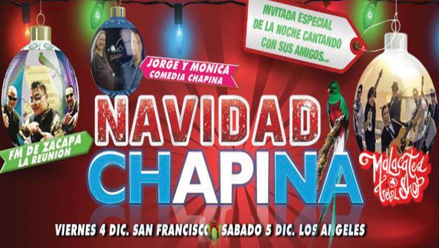 Los chapines en Estados Unidos disfrutarán de una fiesta para celebrar la Navidad. (Foto: Facebook Navidad Chapina)
