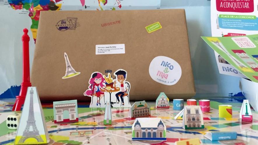 Junto a Nico y Mia los niños aprenderán acerca de un país diferente cada mes. (Foto: Facebook Nico y Mia)
