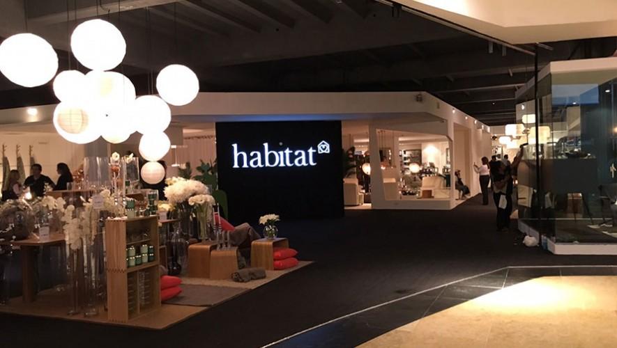 La mueblería Habitat comenzó sus operaciones en Oakland Mall. (Foto: Guatemala.com)
