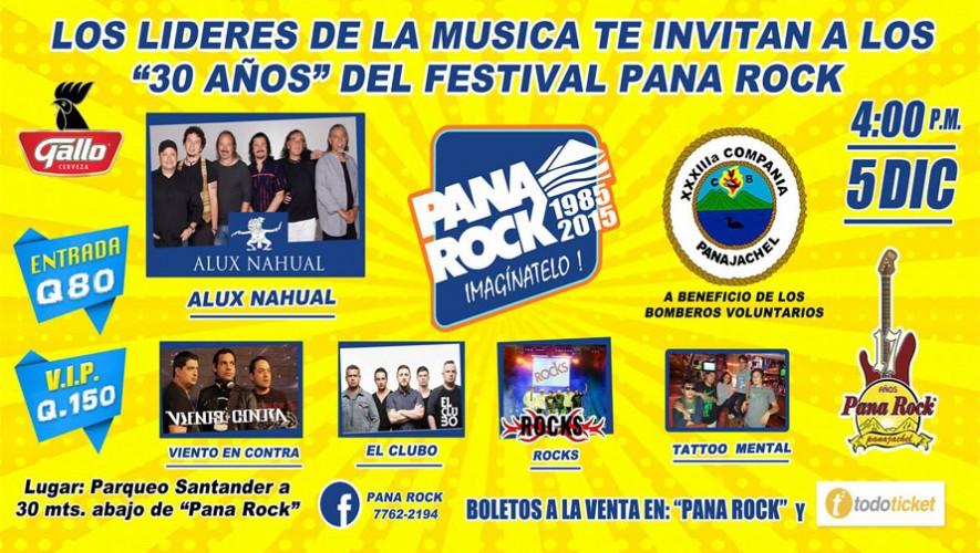 30 años del Festival Pana Rock | Diciembre 2015
