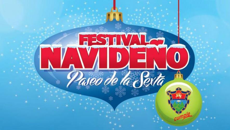 El Festival Navideño del Paseo la Sexta iniciará el 28 de noviembre y terminará el 23 de diciembre. (Foto:  Facebook Festival Navideño - Paseo de la Sexta)