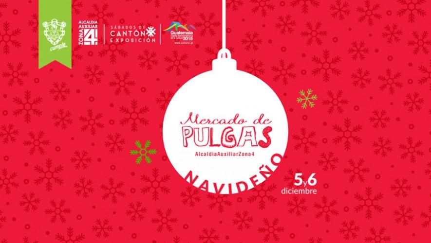 Asiste al primer mercado de pulgas navideño en diciembre. (Foto: Facebook Mercado de Pulgas Navideño)