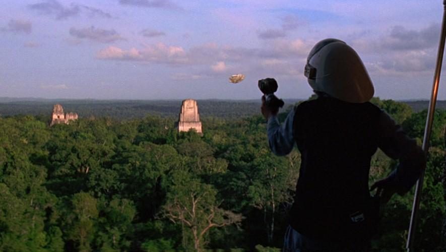 "Fragmento de la película ""Star Wars: Episodio IV"" en donde se observa Guatemala. (Foto: YouTube)"