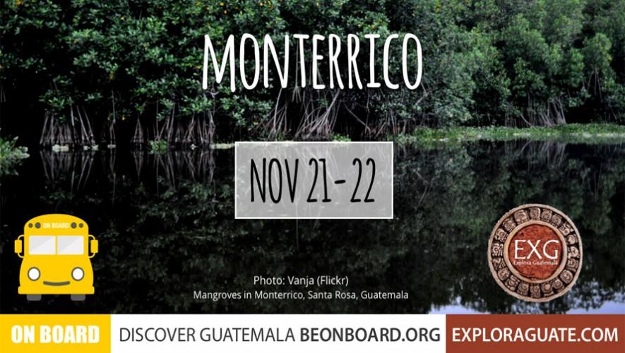 Visita a Monterrico y Volcán de Pacaya con On Board y Explora Guatemala | Noviembre 2015