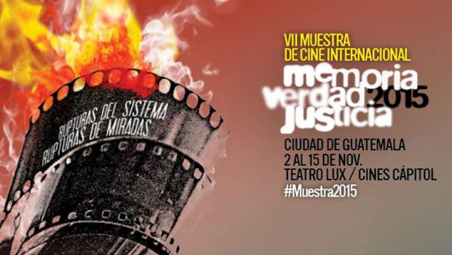 VII Muestra de Cine Internacional Memoria, Verdad y Justicia   Noviembre 2015
