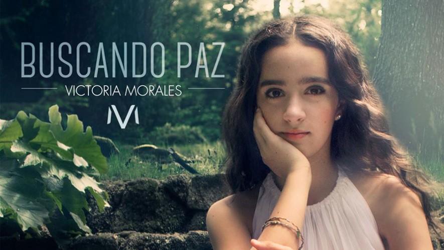 """La cantante guatemalteca Victoria Morales presenta su sencillo """"Buscando Paz"""". (Foto: Facebook Victoria Morales)"""