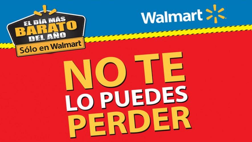 Walmart ofrece el día más barato del año el 13, 14 y 15 de noviembre de 2015. (Foto: Facebook Walmart Guatemala)