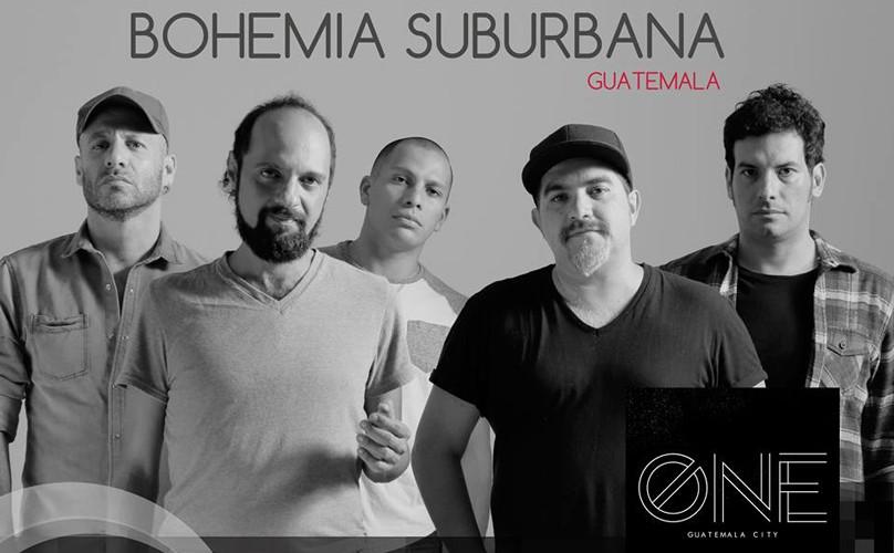 Concierto de Bohemia Suburbana en One Venue | Noviembre 2015