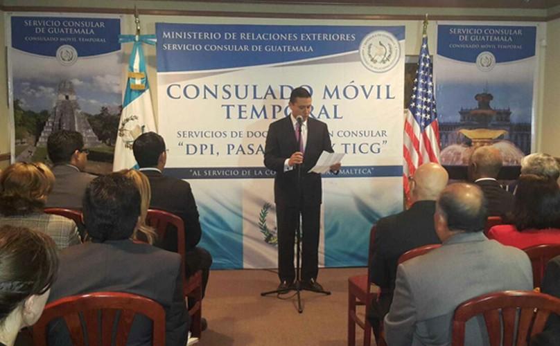 Consulado móvil en Nueva Jersey
