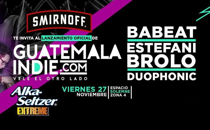 Lanzamiento de Guatemala Indie | Noviembre 2015