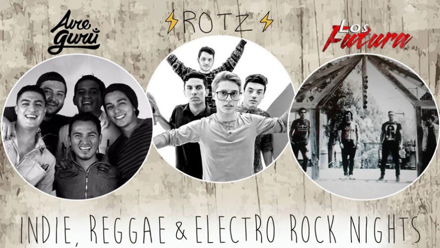 Indie, Reggae & Electro Rock Night   Noviembre 2015